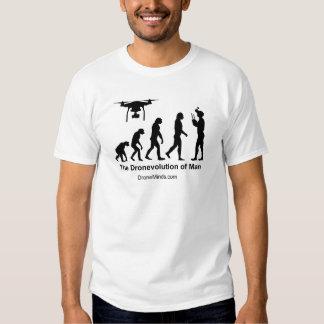 Evolución del abejón - Dronevolution Camisetas
