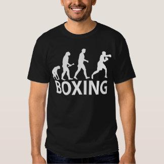 Evolución del boxeo camiseta