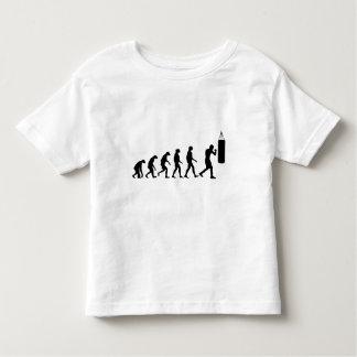 Evolución del boxeo camiseta de bebé