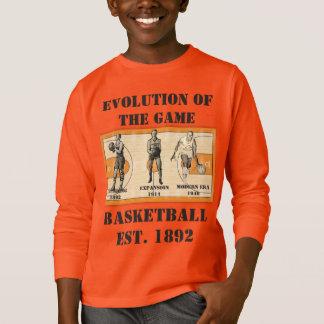 Evolución del juego--Baloncesto Camiseta