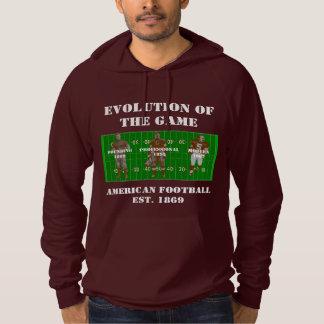 Evolución del juego--Fútbol americano Sudadera