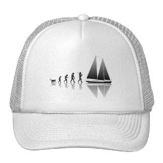 Evolución del marinero gorra
