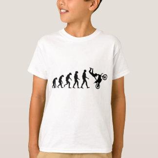 Evolución del motocrós camiseta