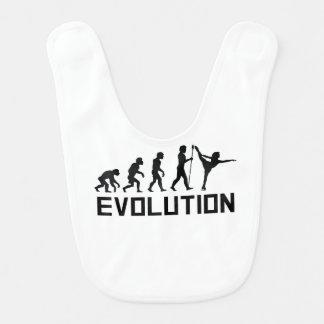 Evolución del patinaje artístico baberos de bebé