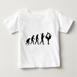 evolución del patinaje artístico camiseta de bebé