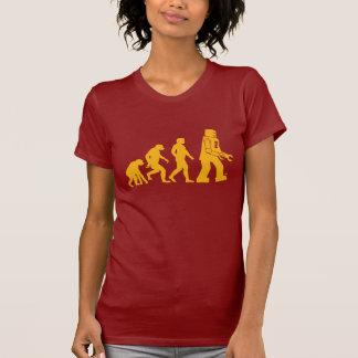 Evolución del robot - nuestros nuevos Overlords Camisetas