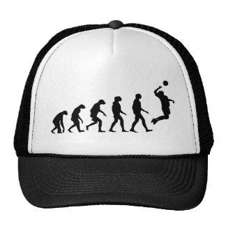 Evolución del voleibol gorro