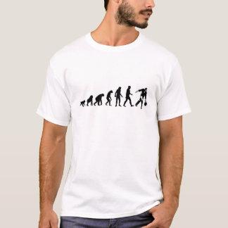 Evolución humana: Camiseta del jugador de bolos