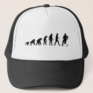 Evolución humana: Gorra del fútbol