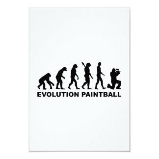Evolución Paintball Comunicado Personalizado