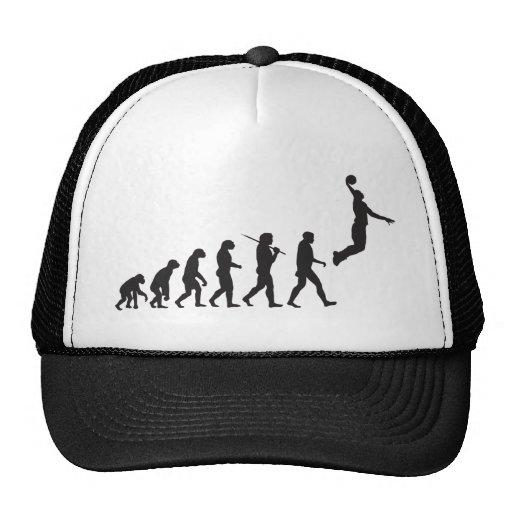 Evolución - salto del baloncesto gorro
