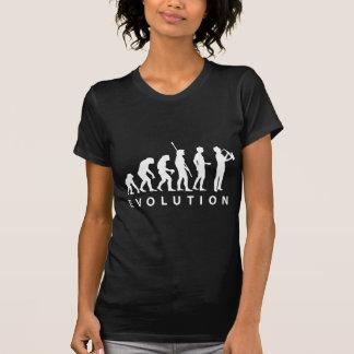 Evolución saxofón black camiseta