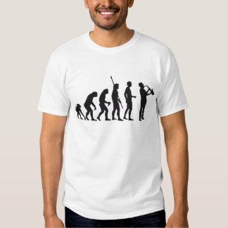 Evolución saxophon camisas
