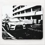 Evolución x de Mitsubishi Lancer - amor de I mi EV Alfombrilla De Raton