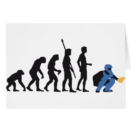 evolution baseball catcher tarjeta