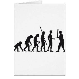 evolution baseball tarjeta