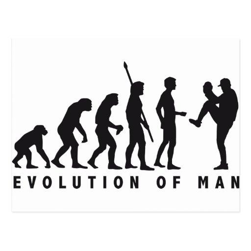 evolution baseball postales