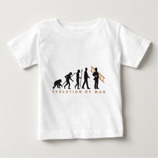 evolution chimney sweeps camiseta de bebé