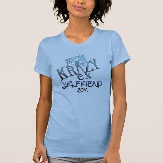 Ex camiseta del logotipo de las señoras de Krazy