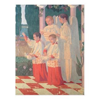 Exaltación de la cruz santa postal