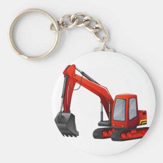 Excavador Llavero
