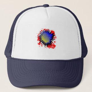 Exclamación cómica de semitono gorra de camionero