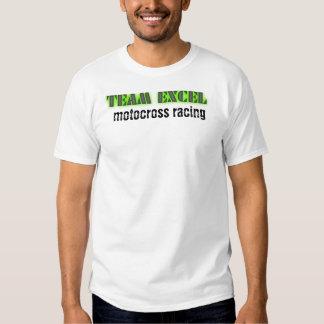 excle que compite con la camiseta