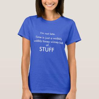 Excusas, la camiseta de las mujeres de las excusas
