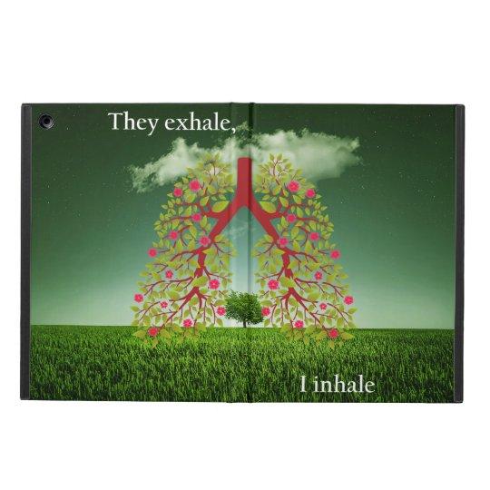 Exhalan, yo inhalan funda para iPad air