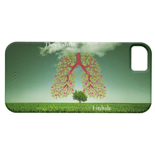Exhalan, yo inhalan funda para iPhone SE/5/5s