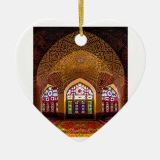 EXHIBICIÓN con respecto: Lugar de culto religioso Adorno De Cerámica En Forma De Corazón