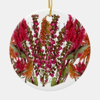 Exhibición floral del lápiz labial de Boronia Adornos