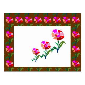 Exhibición floral LINDA: Gráficos de la decoración Postal
