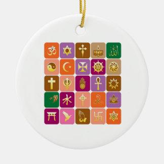 EXHIBICIÓN solamente ICONOS religiosos decorativo Adorno De Navidad