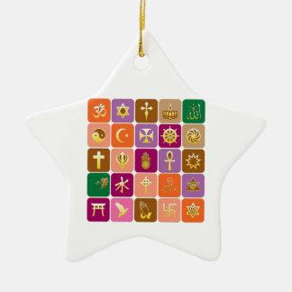 EXHIBICIÓN solamente ICONOS religiosos decorativo Ornaments Para Arbol De Navidad