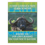 Éxito del búfalo felicitación
