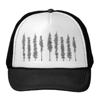 Éxodo urbano - árboles gorras