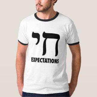 Expectativas de Chai Camiseta