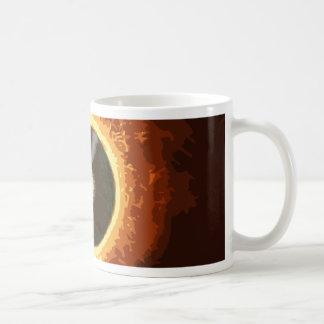 Expediente caliente taza de café