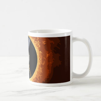 Expediente de estallido taza de café