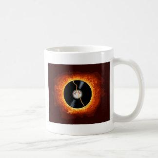 Expediente de estallido taza de café