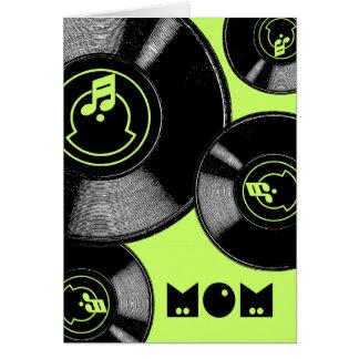 Expedientes del día de madre tarjeta