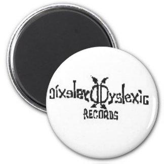 Expedientes del disléxico iman de nevera