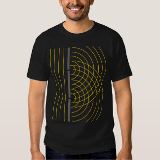 Experimento de la ciencia de la partícula de la camisas