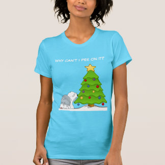 Explicación de navidad a su perro camiseta