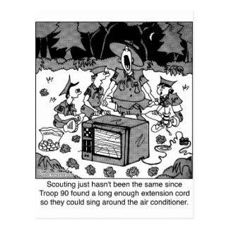 Exploración con los acondicionadores de aire postal