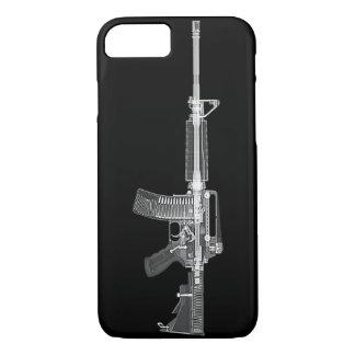 EXPLORACIÓN real de AR-15 CT de la ALTA Funda iPhone 7