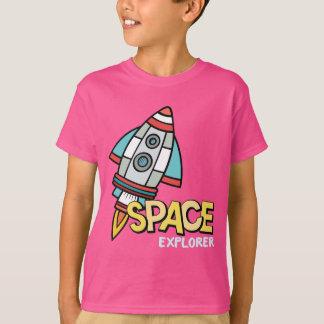 Explorador de espacio camiseta