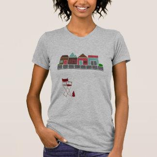 Explorador de la ubicación camiseta