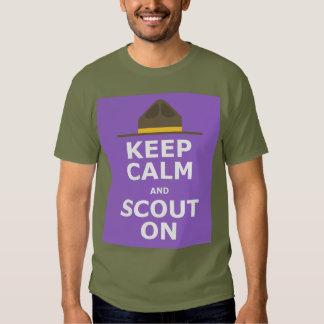 ¡Explorador encendido! Camisetas